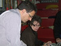 Chantal et Michel Lebailly, le libraire